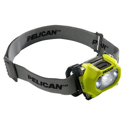 Pelican 2765 LED Safety Approved Headlight Class 1, Div. 1