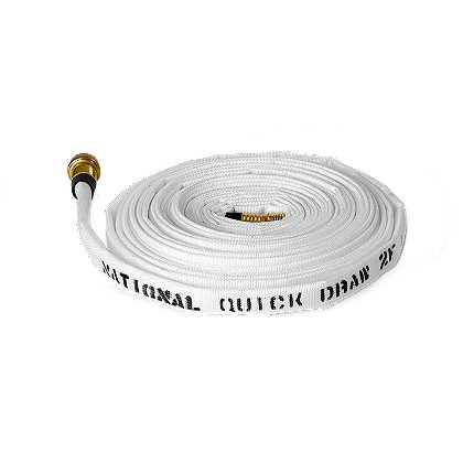 "All-American Hose Quik Draw 2F Wildland-Forestry Hose, 5/8"" x 50'"