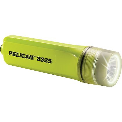 Pelican 3325 LED Safety Certified Light, 162 Lumens, 6.06