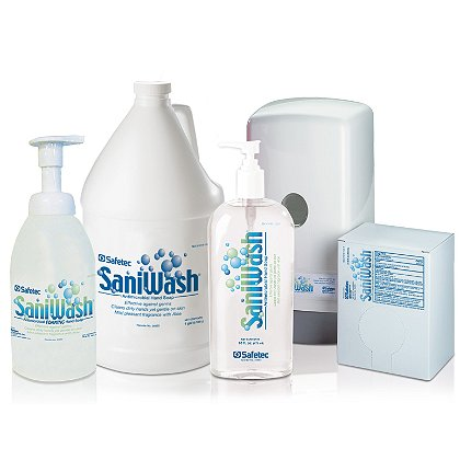 Safetec SaniWash Antimicrobial Hand Soap