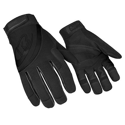 Ringers Rope Rescue Gloves, Black/Grey