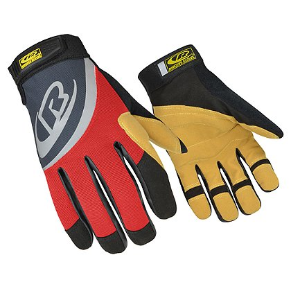 Ringers: Rope Rescue Gloves, Black/Red