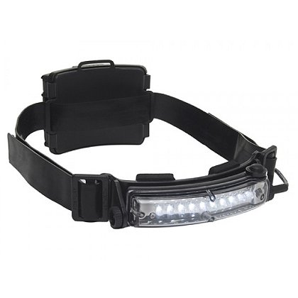 FoxFury Command 10 Tasker S Compact Wide Angle LED Headlamp and Helmet Light with Rear Safety LED