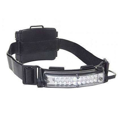 FoxFury Command 20 Tasker S Compact Wide Angle LED Headlamp with Rear Safety LED