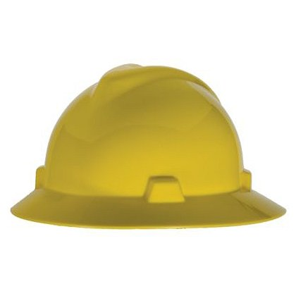 MSA V-Gard Protective Helmet