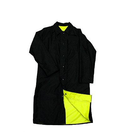 Neese Hi-Vis Lime/Black Reversible Coat, Poly/Nylon