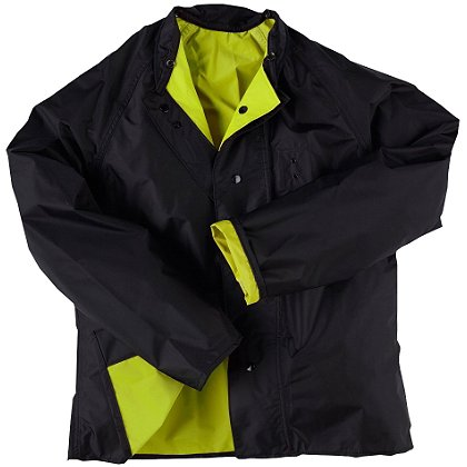 Neese: Hi-Vis Lime/Black Reversible Jacket, Poly/Nylon