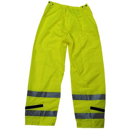 Neese Police Trouser Deluxe, Hi-Vis Lime with Silver 3M Reflective Trim