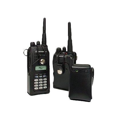 Leathersmith Leather Case for Motorola EX600 2 Way Radio w/Full Key Pad