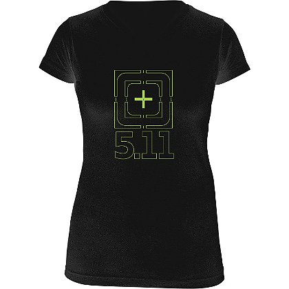 5.11 Tactical Women's Bulls Eye Logo T-Shirt