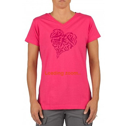 5.11 Tactical: Women's Heart of Steel Logo Short Sleeve T-Shirt