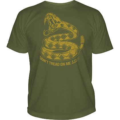 5.11 Tactical Don't Tread on Me Short Sleeve T-Shirt