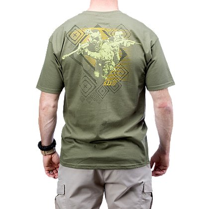5.11 Tactical Red Scope Logo Short Sleeve T-Shirt