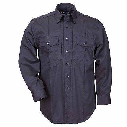 5.11 Tactical Men's Station Non-NFPA Class B Long Sleeve Shirt, Fire Navy