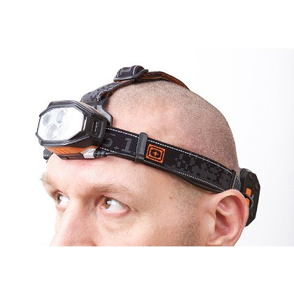 5.11 Tactical: S+R H6 Headlamp, 6 AA Batteries, 460 Lumens