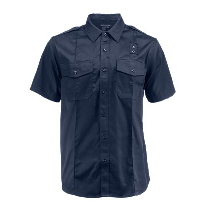 5.11 Tactical Men's PDU Twill Class A Shirt, Short Sleeve