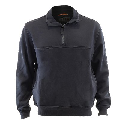 5.11 Tactical Water Repellent Storm Fleece 1/4 Zip Job Shirt, Navy