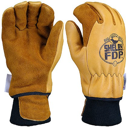 Shelby FDP Grain Elk Hide Glove
