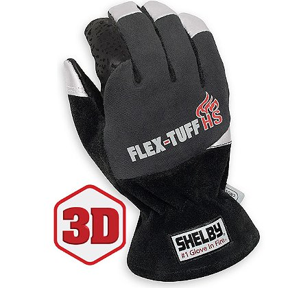 Shelby Flex-Tuff HS Fire Protection Gloves, NFPA