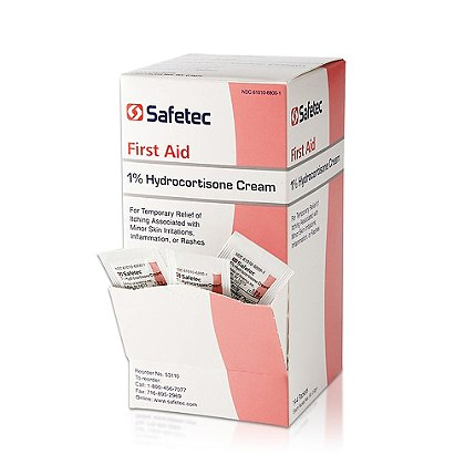 Safetec 1% Hydrocortisone Cream