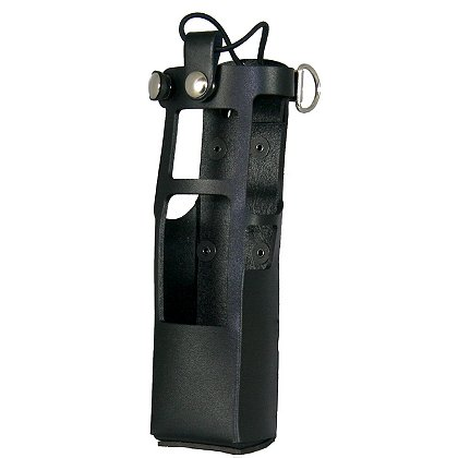 Boston Leather Radio Holder for Motorola APX 7000 with Extended Battery
