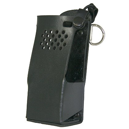 Boston Leather: Radio Holder for Motorola APX6000