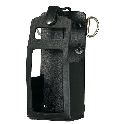 Boston Leather Leather Radio Holder for Motorola APX 4000