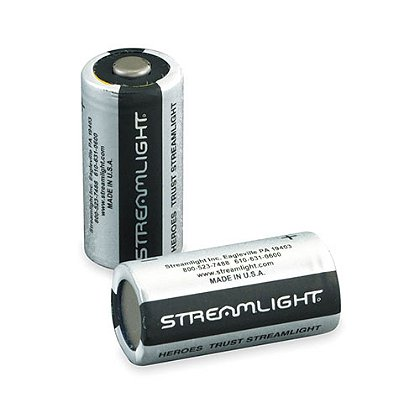 Streamlight: CR2 3-Volt Lithium Batteries, 10 Year Shelf Life