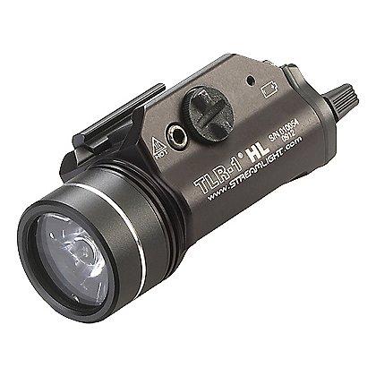 Streamlight: TLR-1 HL High Lumen Rail Mounted C4 LED Weapon Light 800 Lumens