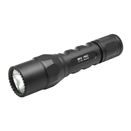 SureFire: 6PX Pro Dual Output LED Flashlight, 2 SF123A Batteries, 320 Lumens, 5.2