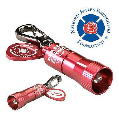 Streamlight National Fallen Firefighters Foundation Red Nano Light