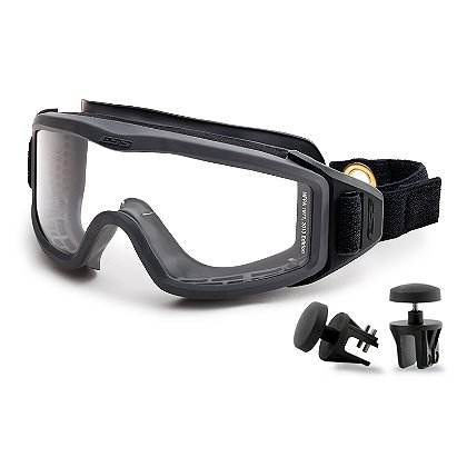 ESS FirePro-1971 EX-1 Structural Firefighting Goggle Kit, Speed Clip, NFPA 2013