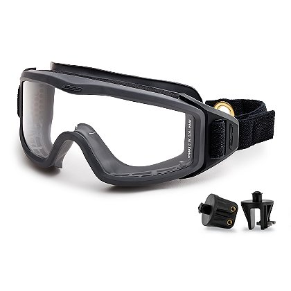 ESS FirePro-1971 EX-2 Structural Firefighting Goggles, Snap Mounts, NFPA 2013