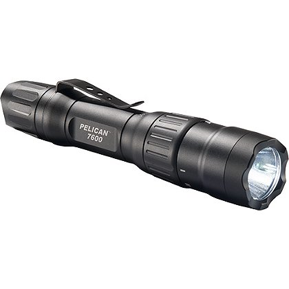 Pelican 7600 3-Color LED Flashlight, 944 Lumens, 6.19