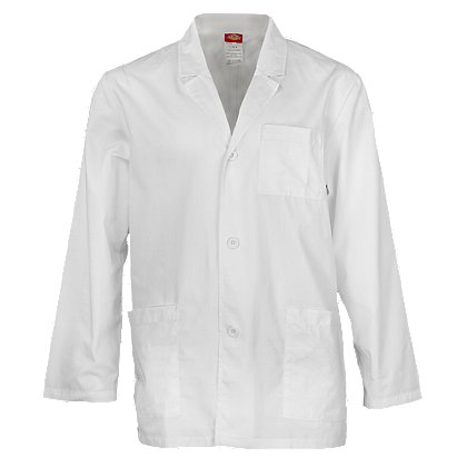 Dickies Men's Washed Consultation Lab Coat