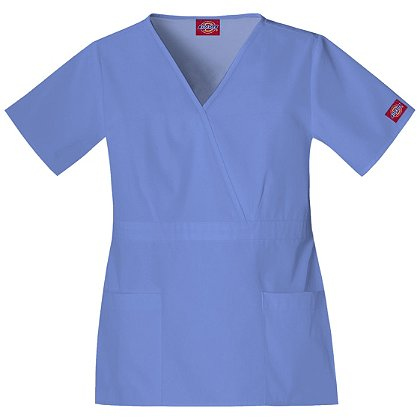 Dickies Women's Empire Waist Scrub Top