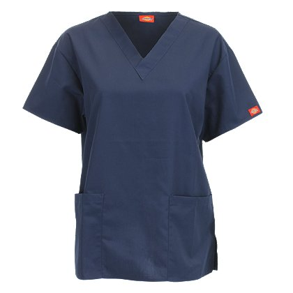 Dickies: Women's V-Neck Scrub Top