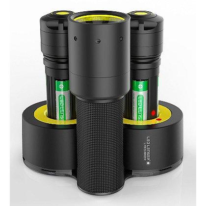 LED Lenser i7R Rechargeable Flashlight w/ Double Charging Base
