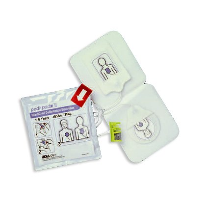 Zoll: Pedi Padz II Pediatric AED Electrodes