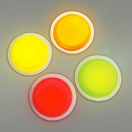 "Cyalume LightShape 3"" Circle Marker, 4 Hour Duration"