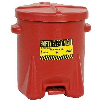 Eagle Manufacturing Safety Oily Waste Cans