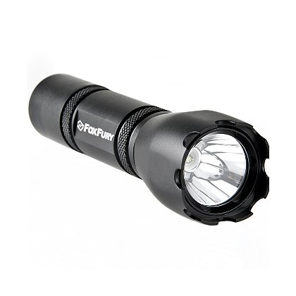 "FoxFury: Rook MD1 LED Tactical Flashlight, 2 CR123A Batteries, 220 Lumens, 4.9"" Long"