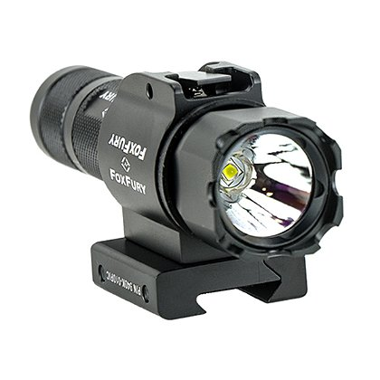 FoxFury: SideSlide Picatinny Weapon Light and Flashlight