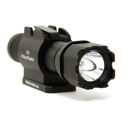 FoxFury SlideSlide Bolt Side Mounted Helmet Light, 200 Lumens
