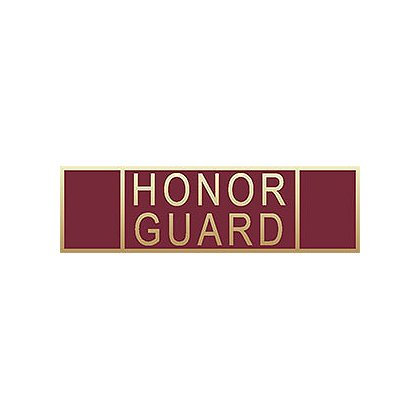 Blackinton Honor Guard Commendation Bar