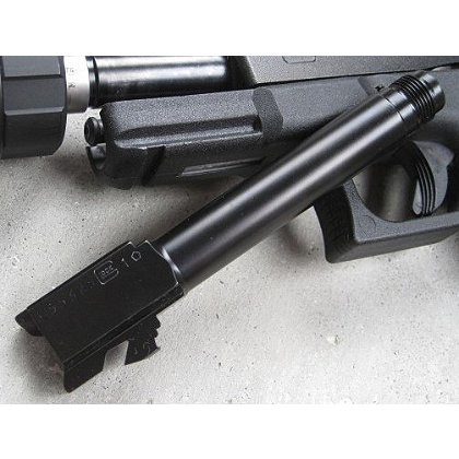AAC: Silencer Ready Barrel for Glock Pistols, 9mm & .45 Auto Calibers