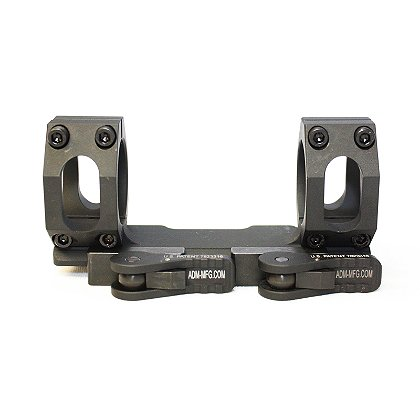 ADM: AD-Recon-SL Scope Mount, 30mm Rings, Tactical Lever, For Bolt Action Rifles