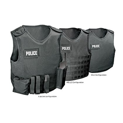 Armor Express: Overt Carrier System (OCS) with Tails, FMS Level II Body Armor Panels