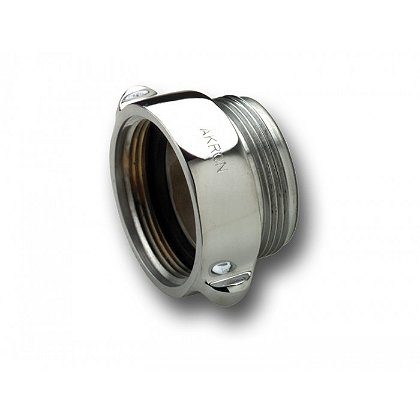 Akron Chrome Rigid Female to Male Adapter