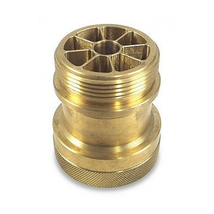 Akron: Brass Mini Stream Shaper, 2.5